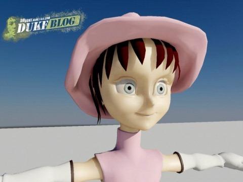 Zorro-Girl 模型完成