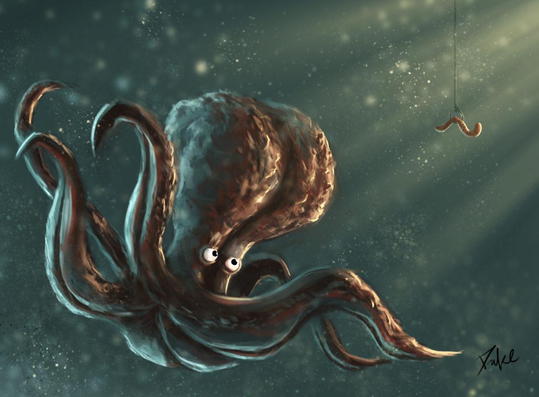 呆萌的章鱼