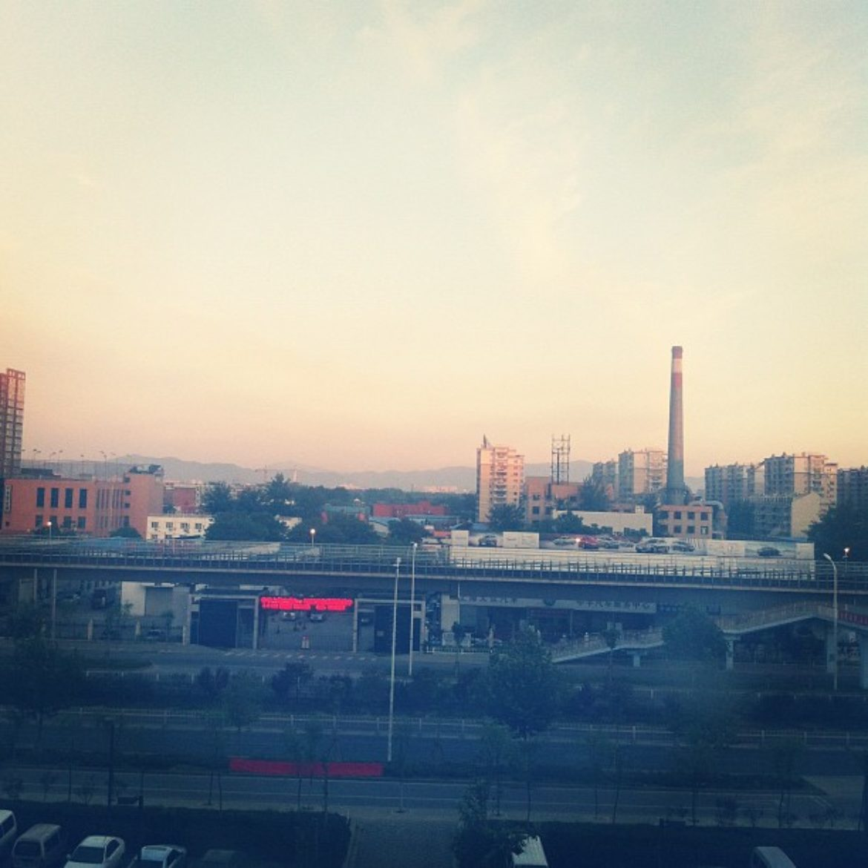 Morning, city.