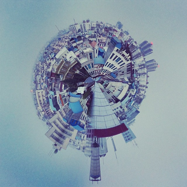 This is a tiny planet
