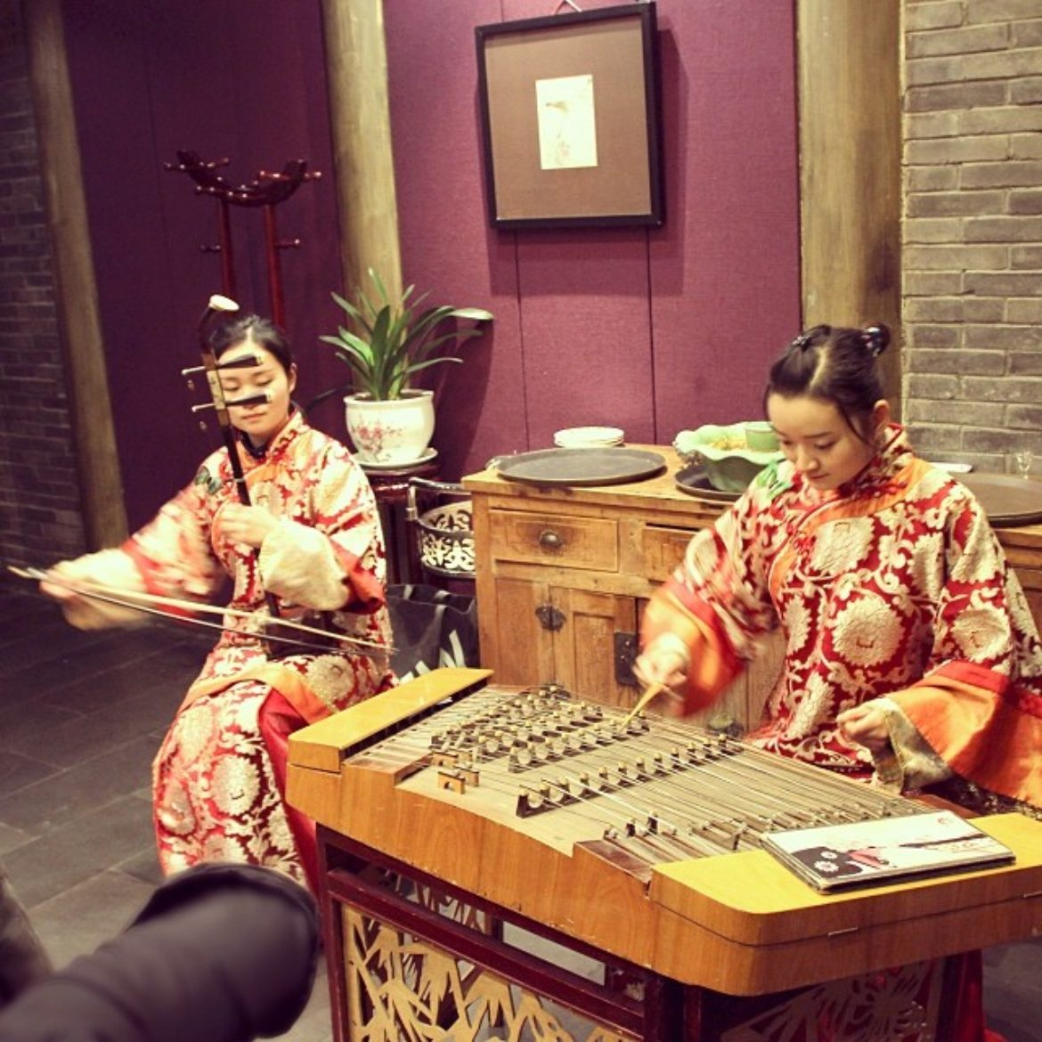 The ancient Chinese music show