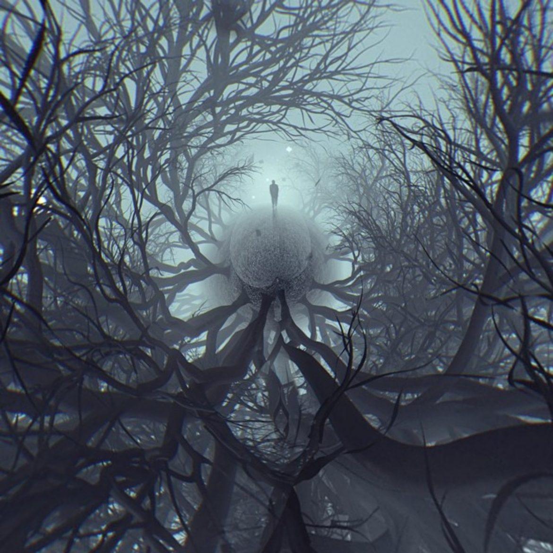 """Man in fog"" Re-creation"