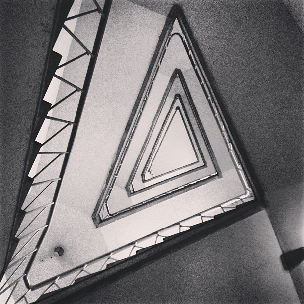 Triangle Stairs