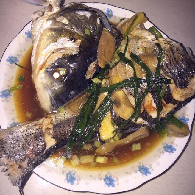 清蒸花鲢鱼