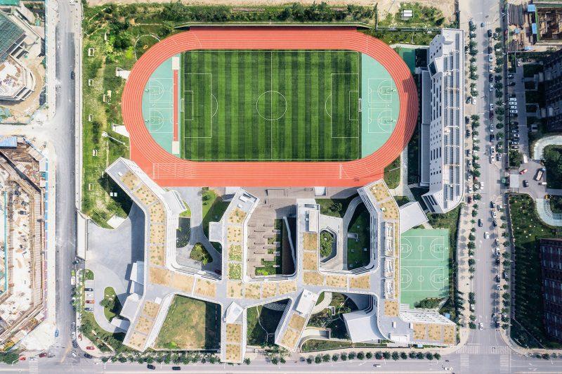 令人赞叹的中学设计:北京四中房山校区